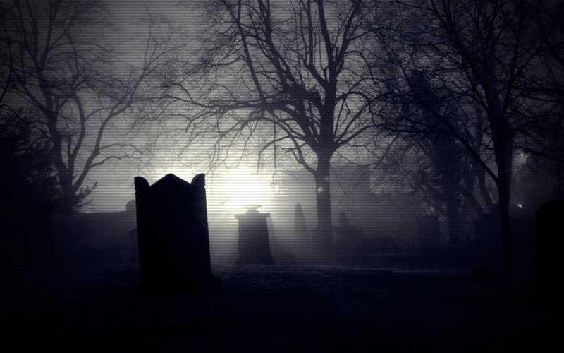 Το φάντασμα του νεκροταφείου...