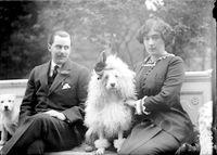 Ο Έντουαρντ και η Έβελυν Μακ Λην, το 1912...