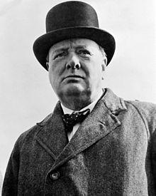 Sir Winston Leonard Spencer-Churchill (30/11/1874 – 24/01/1965)