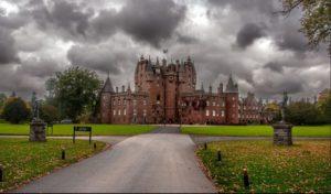 Το Κάστρο του Γκλάμις, στο Άνγκους της Σκωτίας
