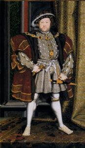 Ερρίκος VIII (28/06/1491 – 28/01/1547)