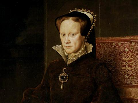 """Η """"Ματωμένη Βασίλισσα"""" Μαρία Α' (Bloody Mary), Βασίλισσα της Αγγλίας και της Ιρλανδίας από το 19/07/1553 ως 17/11/1558"""