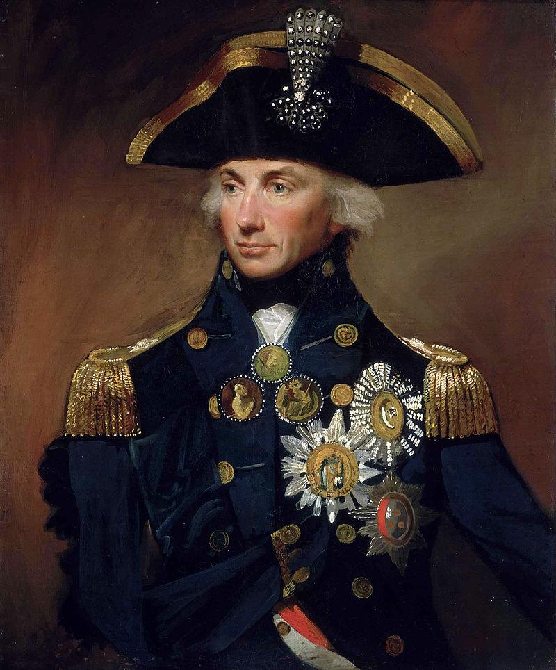 Ναύαρχος Οράτιος Νέλσον (29/09/1758 - 21/10/1805)