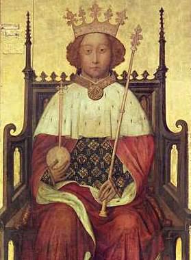 Βασιλιάς Ριχάρδος ΙΙ (06/01/1367 - 14/02/1400)