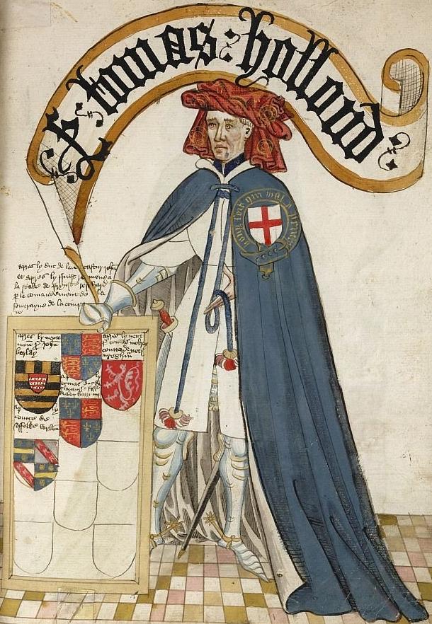 Τόμας Χόλαντ, Κόμης του Κεντ (1314 - 1360)