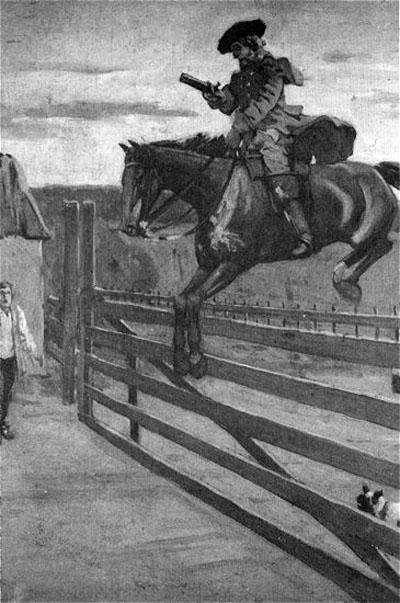 Απεικόνιση του ληστή Ρίτσαρντ Ντικ Τέρπιν (1705 - 07/04/1739)