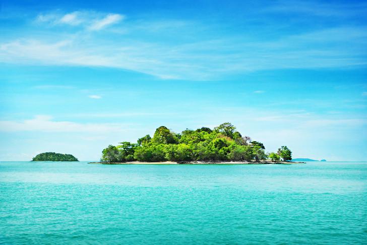 Άποψη από τα νησιά Τοκελάου, στον Ειρηνικό Ωκεανό