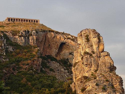 Άποψη της Σφίγγας του Pisco Montano