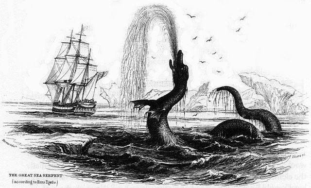 Το Μεγάλο Θαλάσσιο Ερπετό (1734)