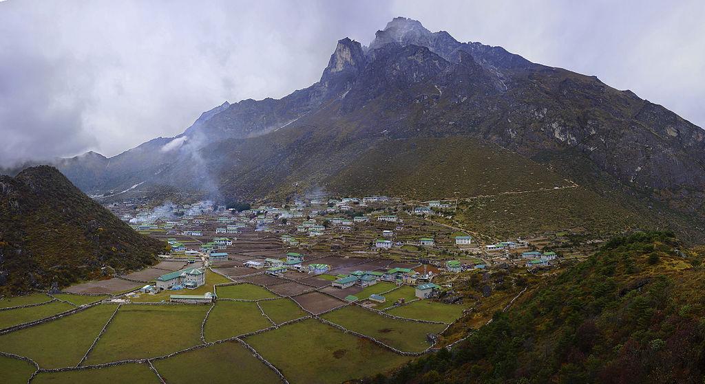 Το χωριό Κουμτζούγκ (Khumjung), στο Νεπάλ