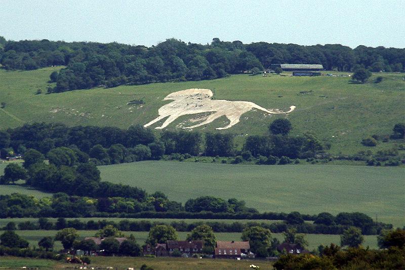 """Ο """"Λευκός Λέοντας"""", στους λόφους του Whipsnade"""