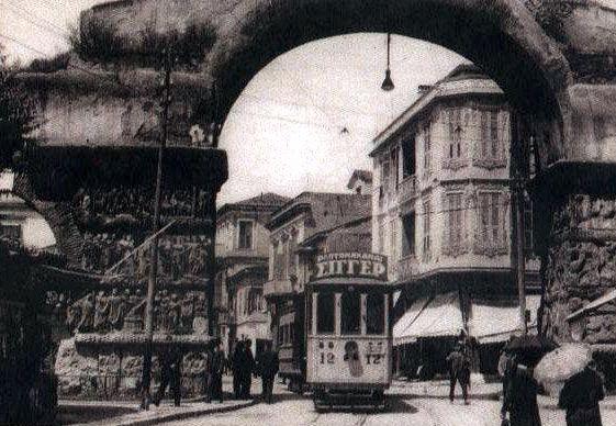 Η Αψίδα του Γαλέριου, 1934
