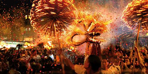 Η Γιορτή του Φθινοπώρου, στο Χονγκ Κονγκ