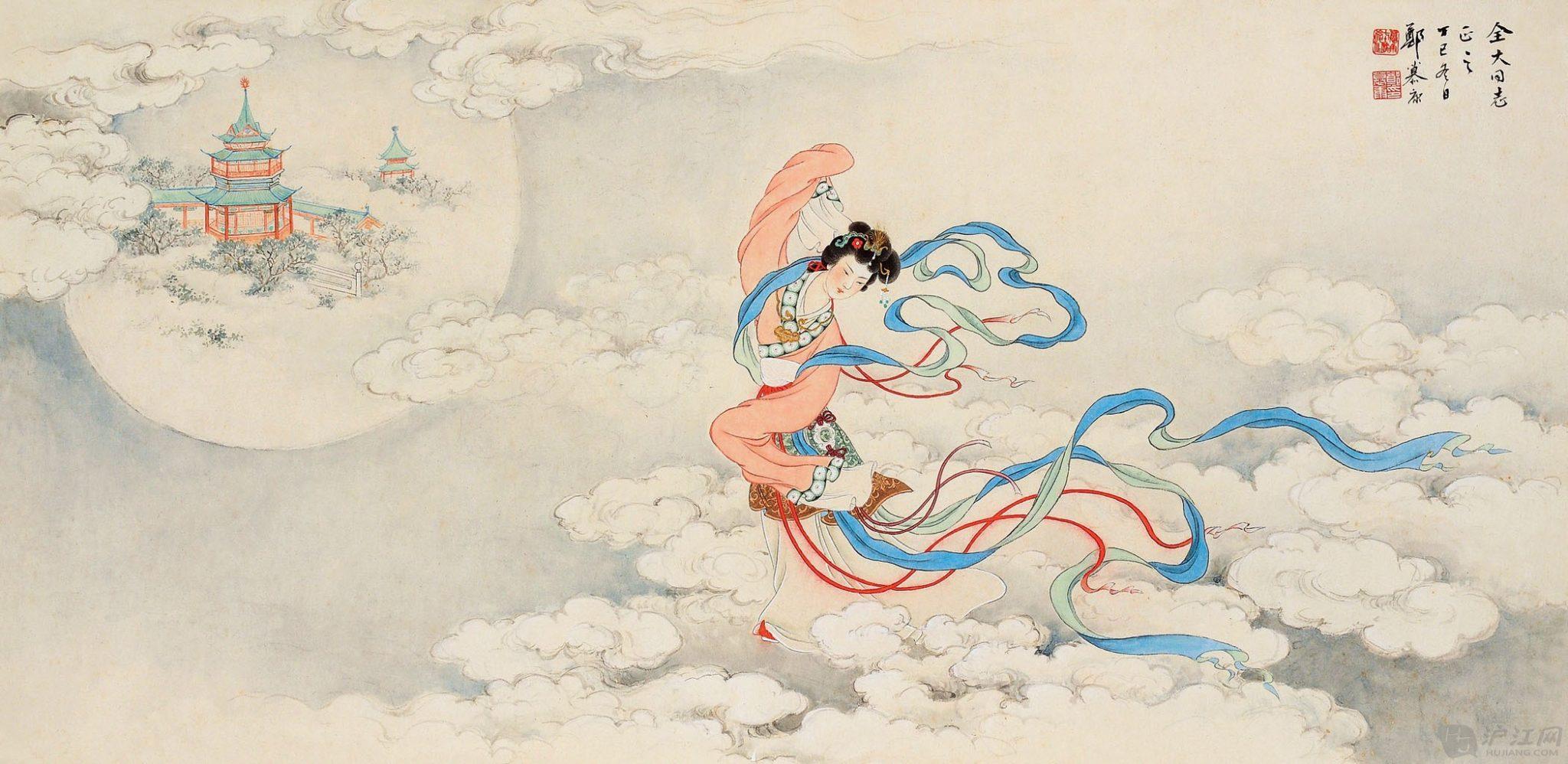 Η Χενγκ Ο, πετώντας προς το Φεγγάρι