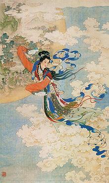 Η Χενγκ Ο, η Θεά του Φεγγαριού
