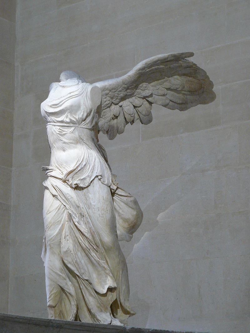 Η Φτερωτή Νίκη της Σαμοθράκης