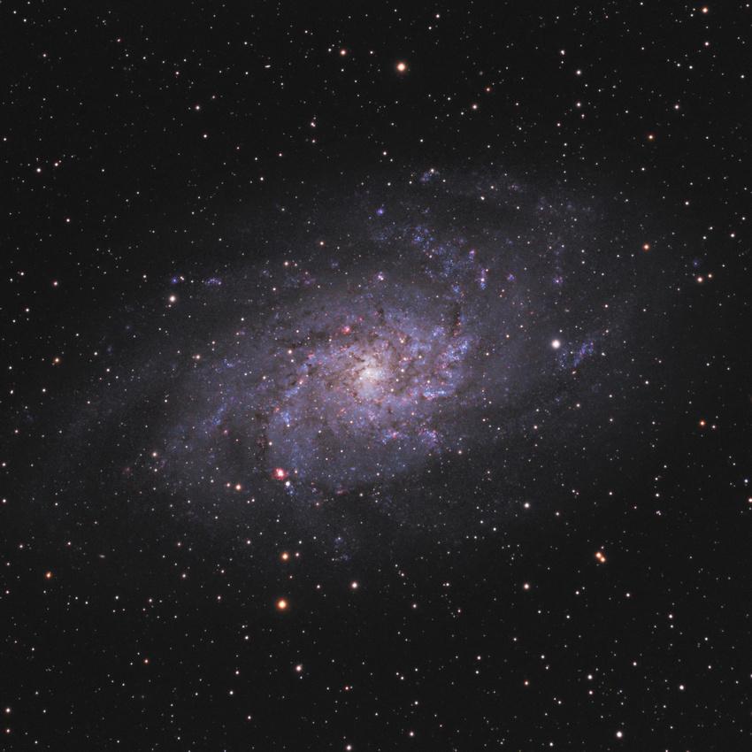 Ο Γαλαξίας του Τριγώνου (γνωστός και ως Μεσιέ 33, Μ33 και NGC 598)