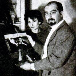 Ο Δρ. Πετρούτσι μαζί με τη συνεργάτιδά του, Δρ. Λάουρα Ντι Πάουλι