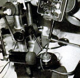 Ο ειδικός φωτογραφικός εξοπλισμός που χρησιμοποιήθηκε για το πείραμα