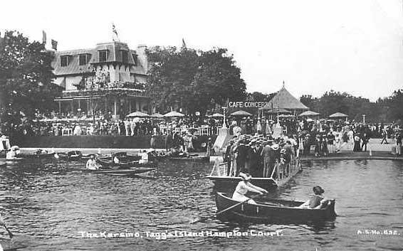 """Το ξενοδοχείο """"Karsino"""", το 1913"""