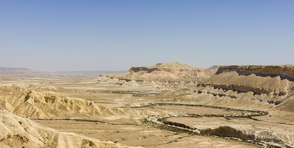 Η έρημος του Νεγκέβ