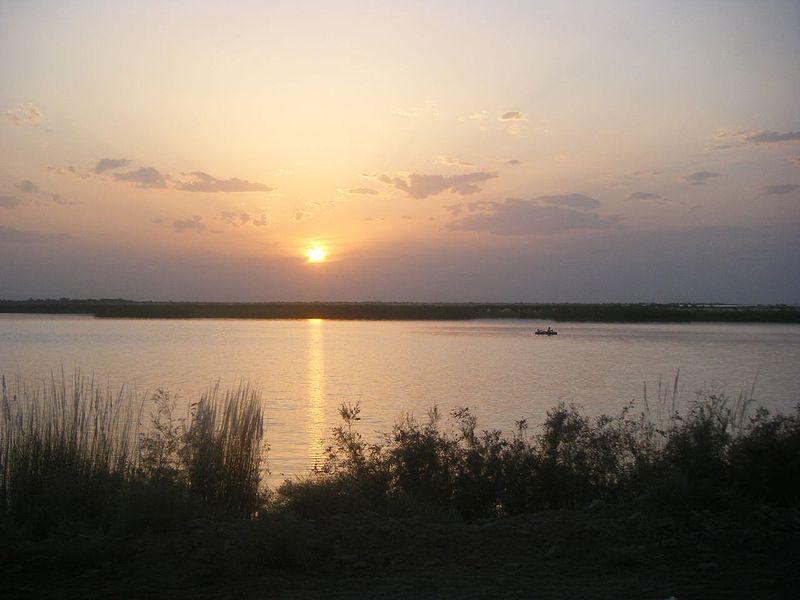 Οι όχθες του ποταμού 'Αμου Ντάρια, στο Τουρκμενιστάν