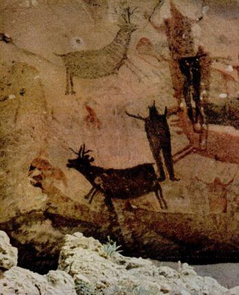 Σπηλαιογραφία με παραστάσεις ζώων
