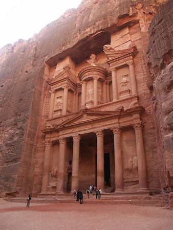 Το Θησαυροφυλάκειο, στην Πέτρα της Ιορδανίας
