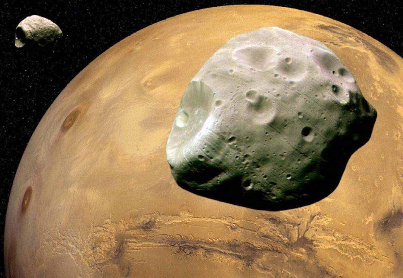 Τα φεγγάρια του Άρη…
