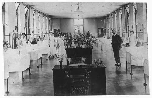 Το εσωτερικό του νοσοκομείου