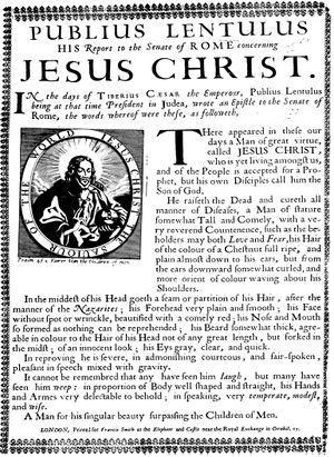 Αναδημοσίευση της επιστολής, Λονδίνο 1680