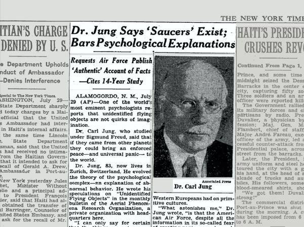 """Το θέμα, όπως παρουσιάστηκε από την αμερικανική εφημερίδα """"The New York Times"""", τον Ιούλιο του 1958"""