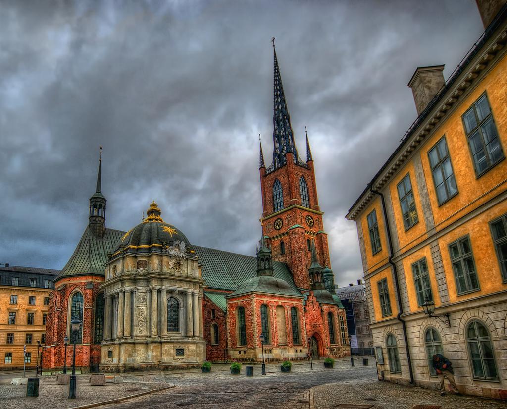 Η Εκκλησία του Riddarholmen, στη Στοκχόλμη, όπου ετάφη η Βασίλισσα Ουλρίκε