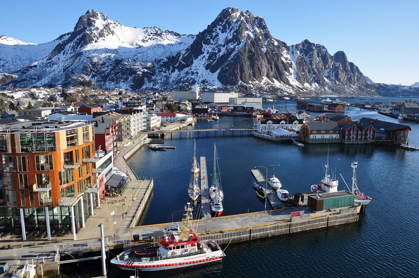 Το λιμάνι του Svolvaer