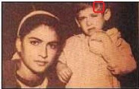 Στη φωτογραφία φαίνεται το σημάδι στο κεφάλι του μικρού Ισμαήλ, το οποίο ταυτίστηκε με το θανατηφόρο πλήγμα που δέχτηκε ο Αμπίμπ Σουτζουλμούς