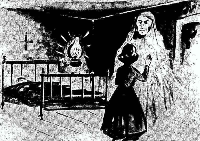 Το κορίτσι και το φάντασμα…