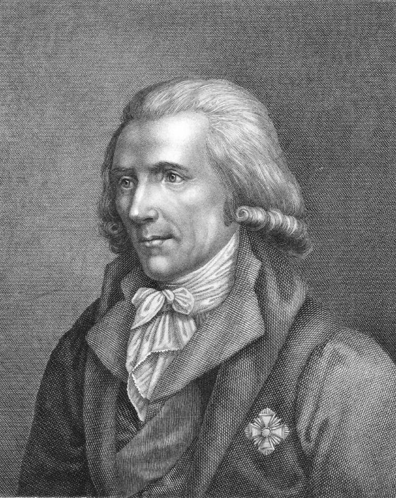 Σερ Μπέντζαμιν Τόμσον, Κόμης του Ράμφορντ (26/03/1753 - 21/08/1814)