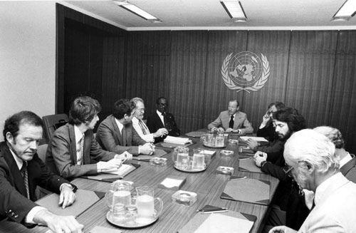Από τις συνεδριάσεις του ΟΗΕ με θέμα τα ΑΤΙΑ