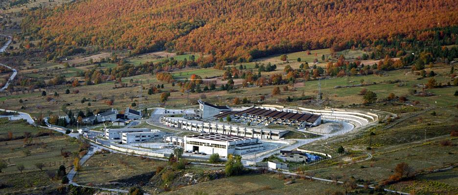 Το εργοστάσιο παραγωγής ηλεκτρικής ενέργειας, στο Σάσσο