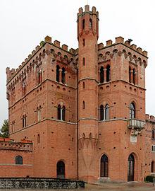 Καστέλλο Ντι Μπρόλιο, η οικία της οικογένειας Ρικασόλι