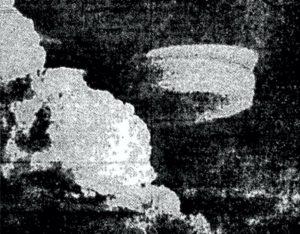 Το περίεργο αυτό αντικείμενο φωτογραφήθηκε από τον πιλότο του Χ-15