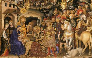 Η Προσκύνηση των Μάγων, πίνακας του Gentile da Fabriano (1423)