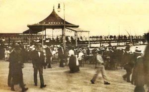 """Η """"Ταραντέλα"""" στο Νέο Φάληρο, όπου τον Ιούνιο του 1903 παρουσιάστηκε ο Ζο-Ζο"""
