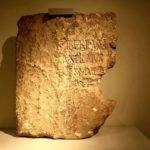 Η λίθινη πλάκα που απέδειξε την ιστορική ύπαρξη του Πόντιου Πιλάτου…
