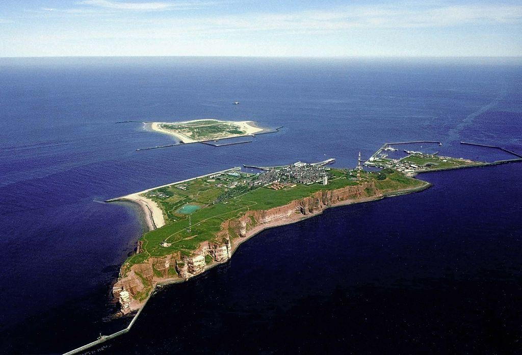 Άποψη των νησίδων Χέλγκολαντ