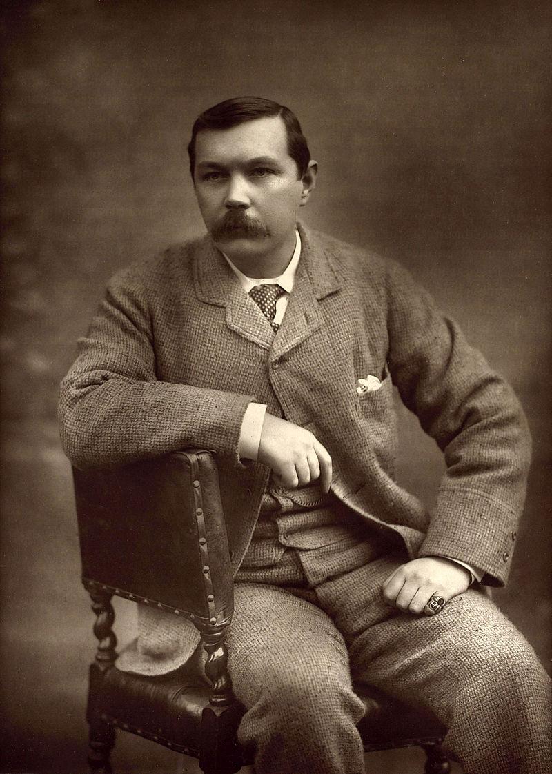 Πορτραίτο του Άρθουρ Κόναν Ντόυλ, φωτογραφία του Herbert Rose Barraud (1893)