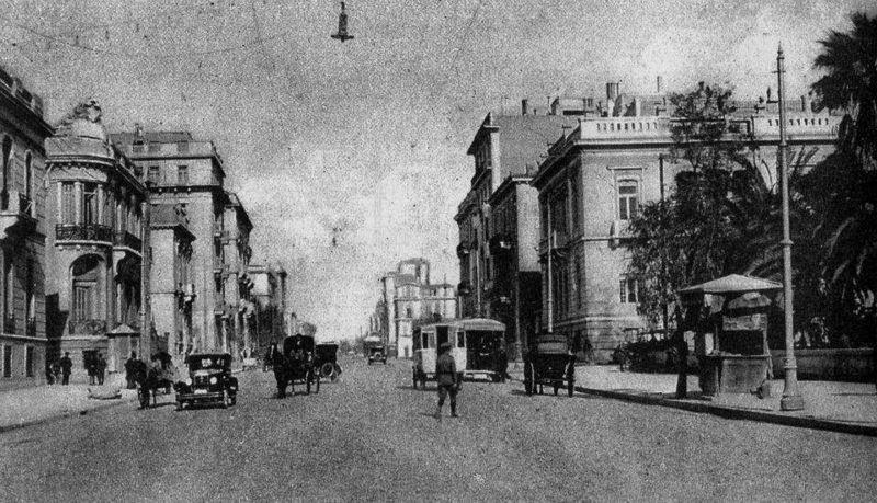 Η Πατησίων, στα μέσα της δεκαετίας του 1920