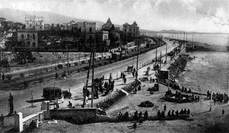 Το Παλαιό Φάληρο, στα μέσα της δεκαετίας του 1930