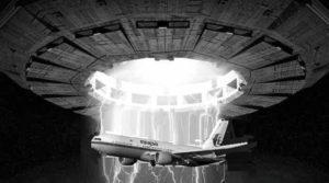 Σύγκρουση αεροπλάνου με ιπτάμενο δίσκο;