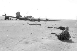 Το B-24, όπως βρέθηκε, το 1956